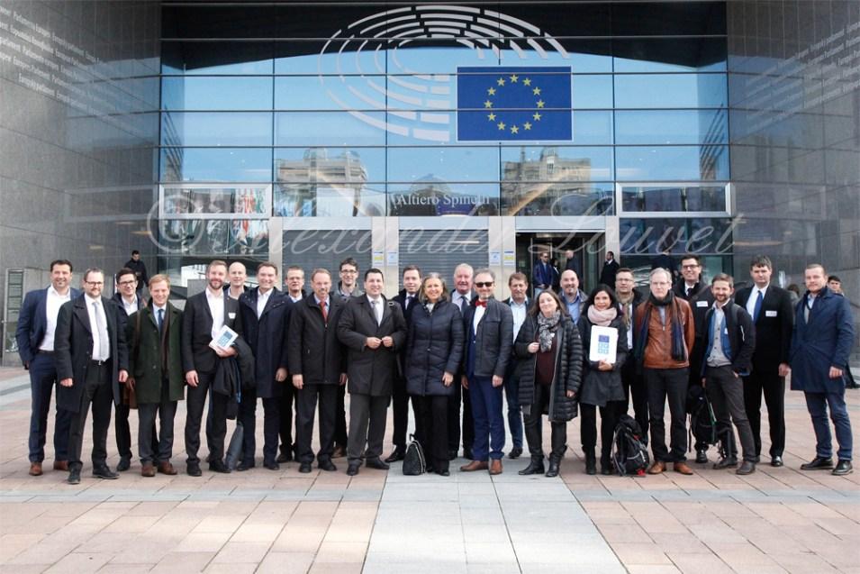Powershoots - Standort Tirol - Wirtschaftsdelegation reist nach Brüssel