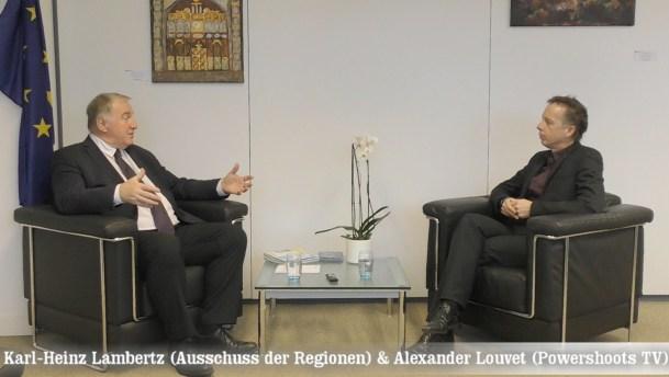 "Karl-Heinz Lambertz on Powershoots TV ""Positive Energy in Europe"""