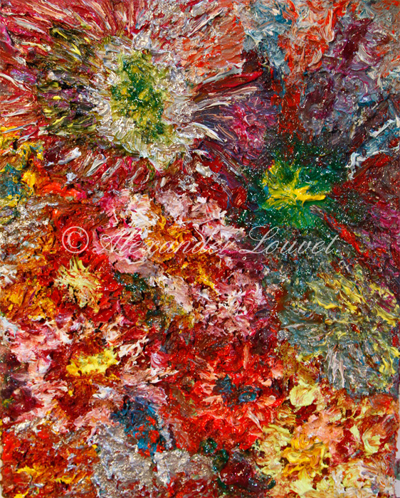 """Painting """"Carnival"""" Oil 30x24"""
