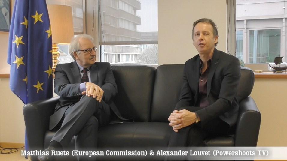 "Matthias Ruete on Powershoots TV ""Positive Energy in Europe"""