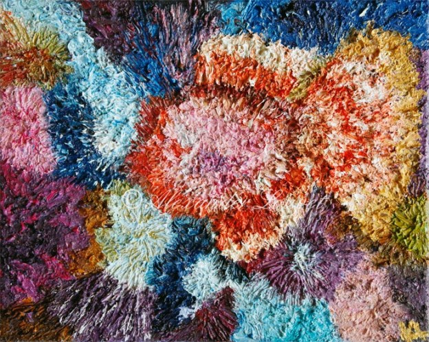 "Painting ""I-Fish"" Oil 50x40"