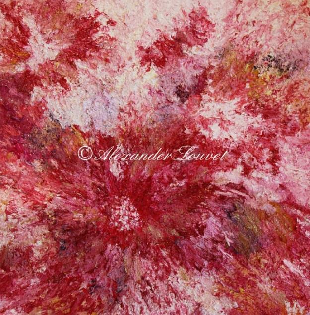 """Painting """"Baila"""" Oil 60x60"""