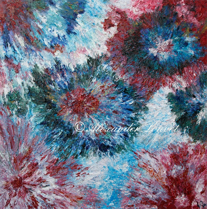 "Painting ""Elena"" Oil 100X100"