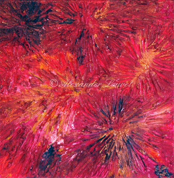"Painting ""Scorpio"" Oil 30x30"
