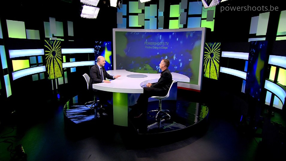 "Powershoots TV ""Positive Energy in Europe"" - Interview with Pierre Moscovici"