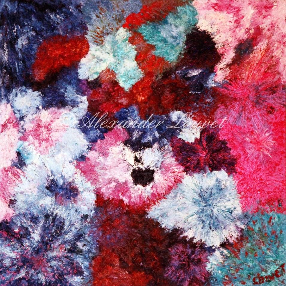 """Painting """"PER TE"""" Oil 100x100"""