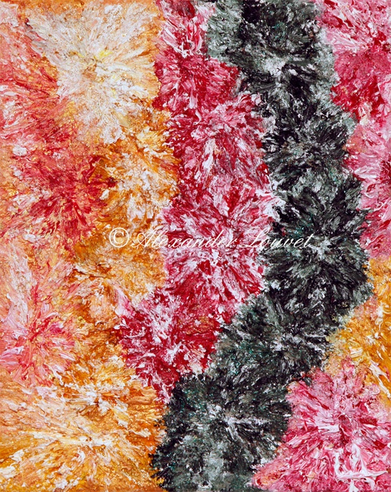 """Painting """"Coral Snow"""" 30x24 Oil"""