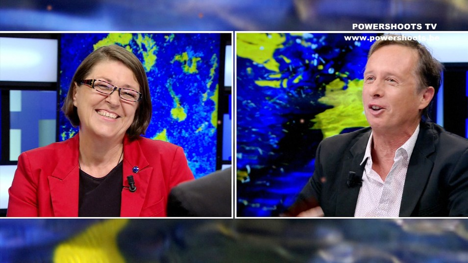 Top Interview of Violeta Bulc on Powershoots TV
