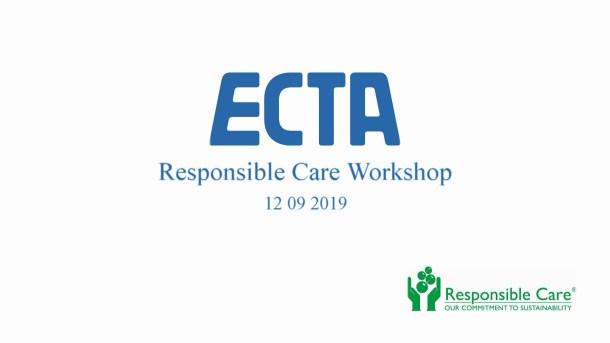 ECTA - REsponsible Car Workshop 12 09 2019