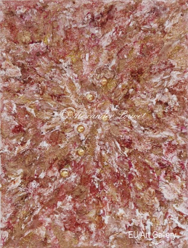 """Painting """"Bridge II"""" - 18X24 - Acrylic-Oil"""