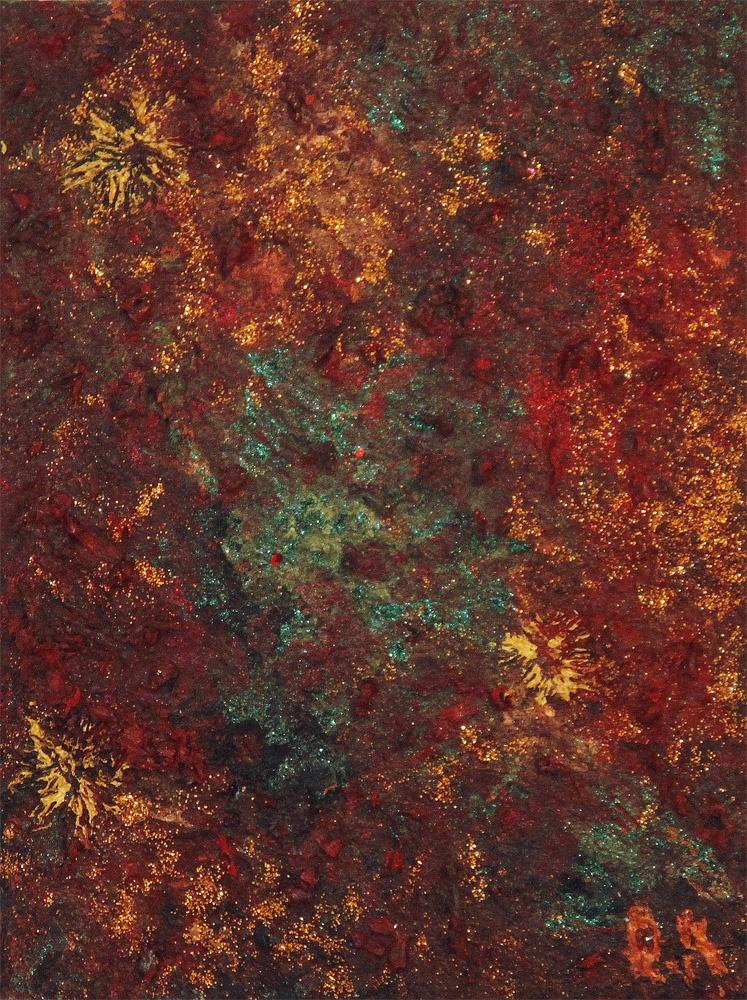 "Painting ""Asha I"" - 24X30 - Acrylic-Oil"