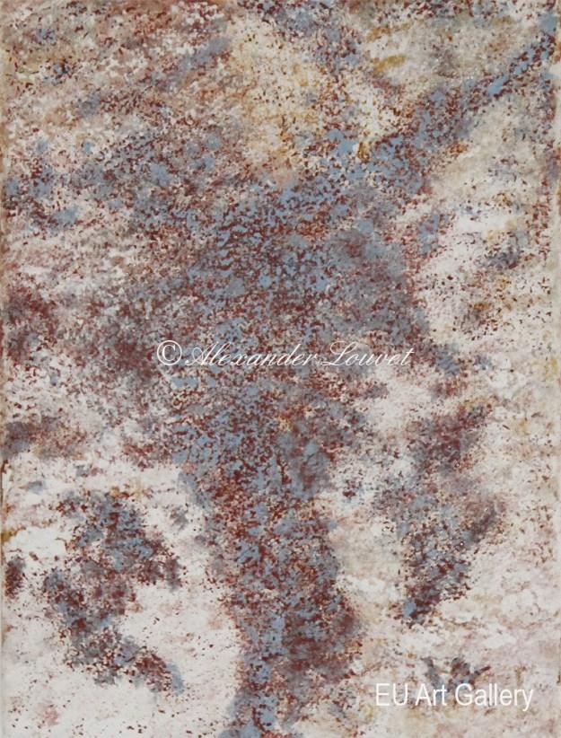 """Painting """"Guens Island"""" - 18X24 - Acrylic-Oil"""