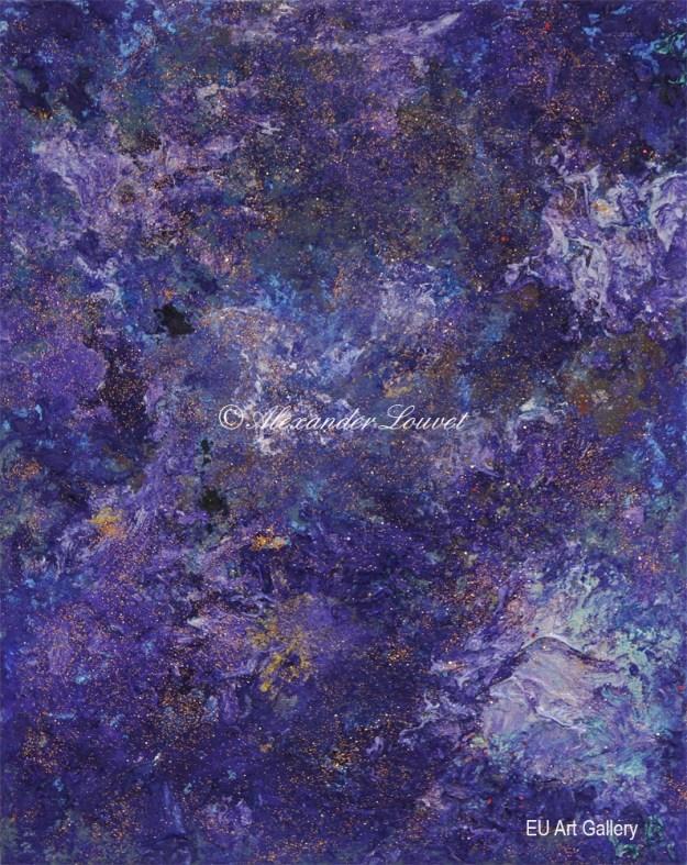 """Painting """"Elo"""" - 50X30 - Acrylic-Oil"""