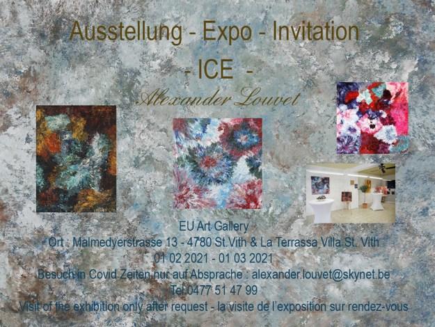 Exhibition ICE ... till 31 03 2021