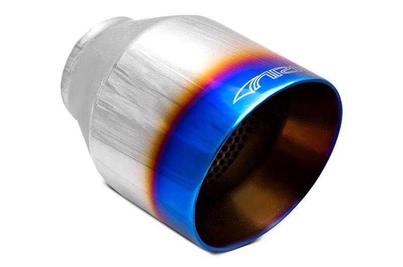 utv exhaust tips caps round oval