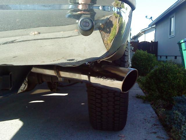 exhaust tip placement ford