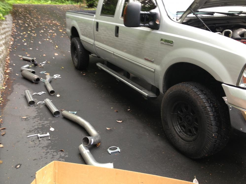 diamond eye exhaust questions ford