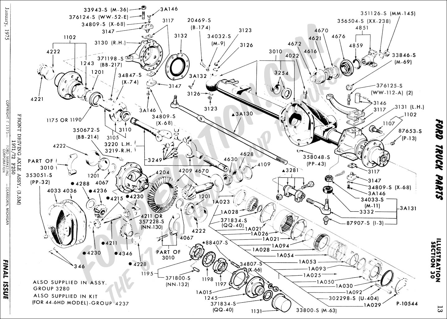Ford 6 0sel Parts Diagram