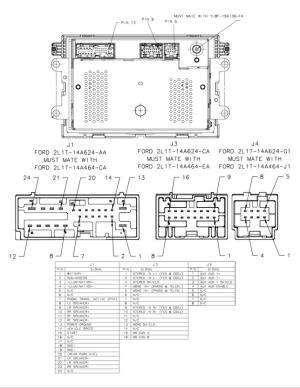 wiring in AUX to a 35mm headphone jack  Ford Powerstroke Diesel Forum