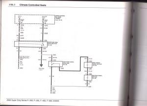 heated seat wire diagram  Page 2  Ford Powerstroke