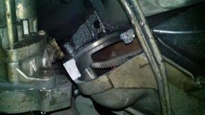broken starter mount  Ford Powerstroke Diesel Forum