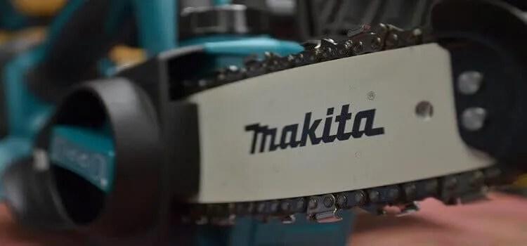 a makita chainaw