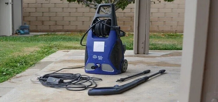 starting-an-electric-pressure-washer