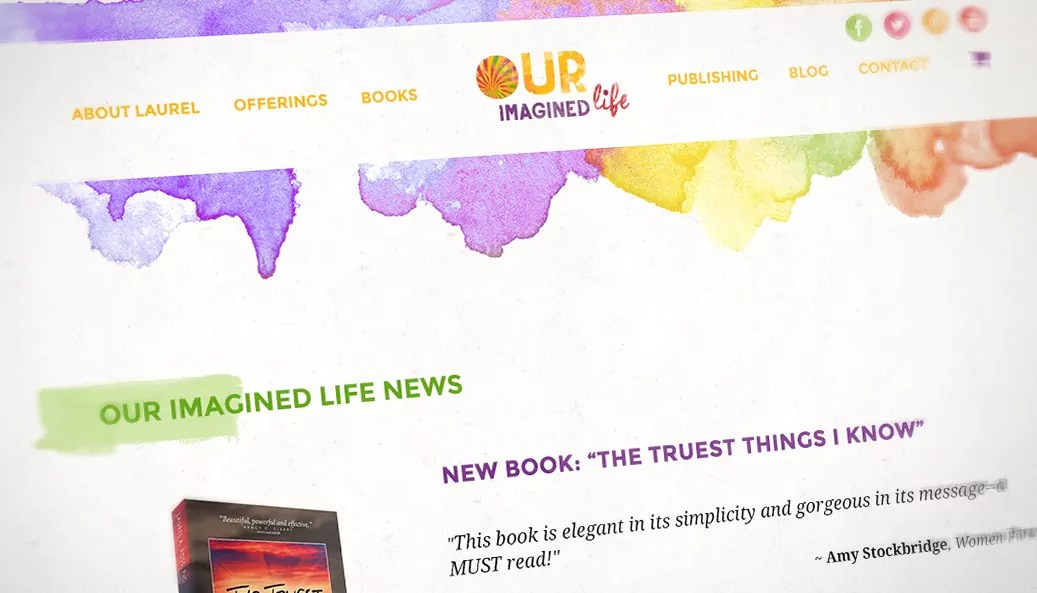 Our Imagined Life Website