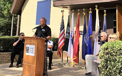 Ceremony marks commitment for national POW-MIA Memorial at former Cecil Field Naval Air Station