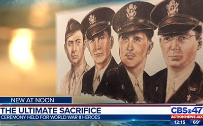 Jacksonville veterans honor 4 chaplains who made ultimate sacrifice