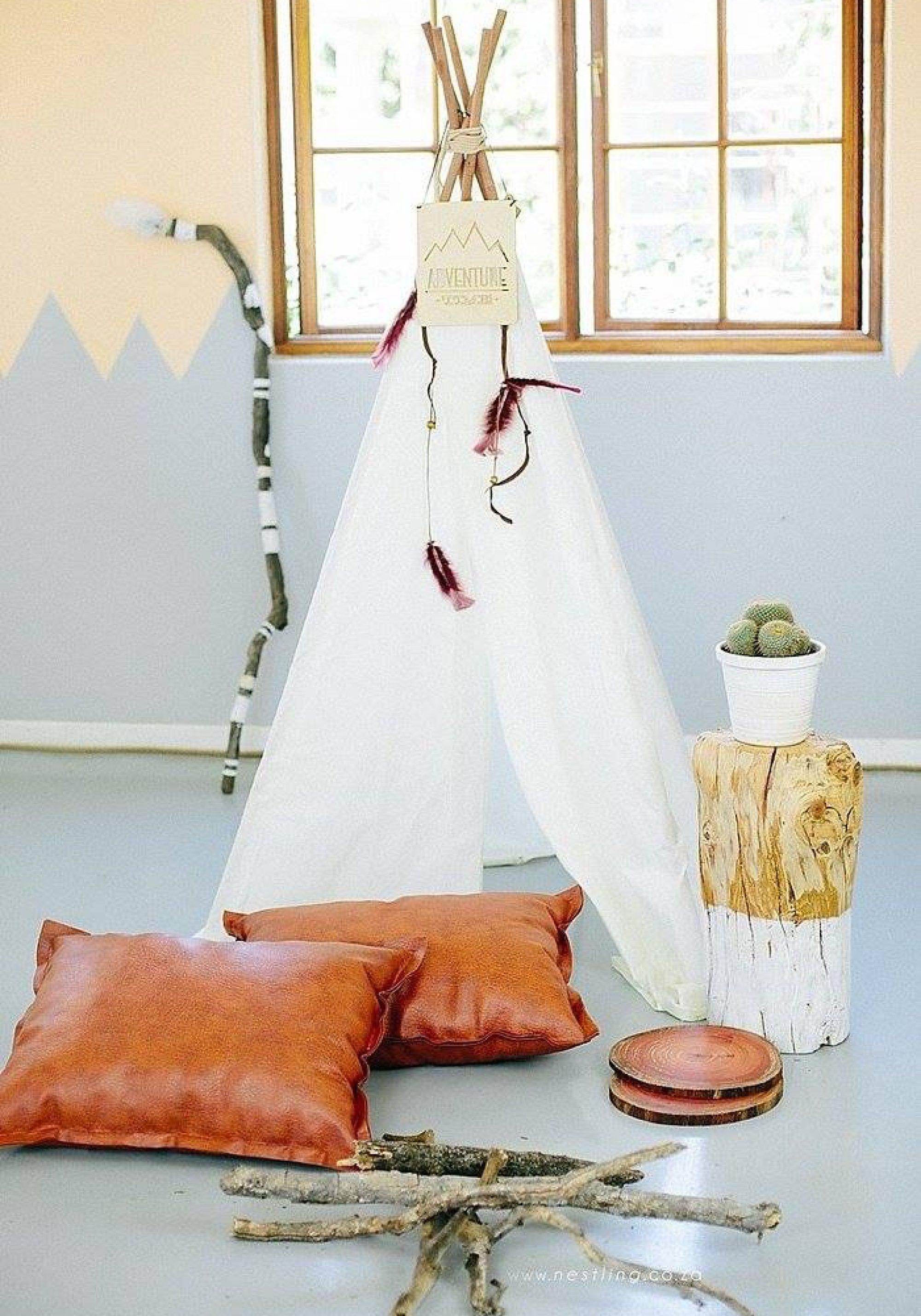 White teepee