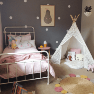 Play tents and teepees for children's rooms