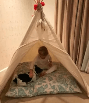 teepees and playtents play tents in the United Kingdom UK