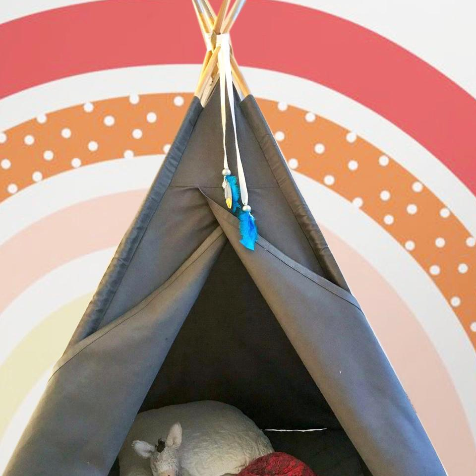 Grey teepee for sale