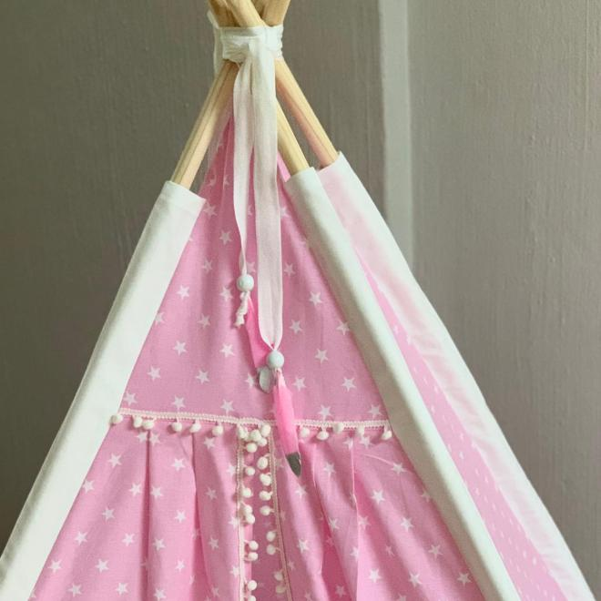Pink Teepees for Girls for sale