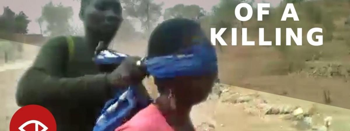 How the BBC verified that video of a grisly murder in Cameroon, step-by-step