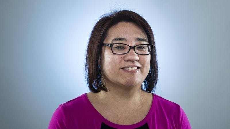 Senior Deputy Managing Editor Kimi Yoshino (Jay L. Clendenin / Los Angeles Times)