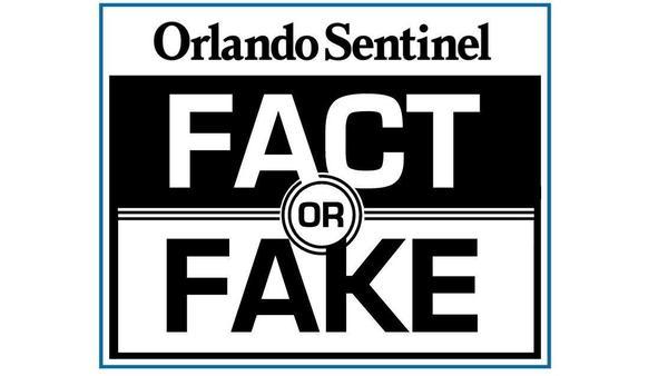 Fact or Fake logo. (The Orlando Sentinel)