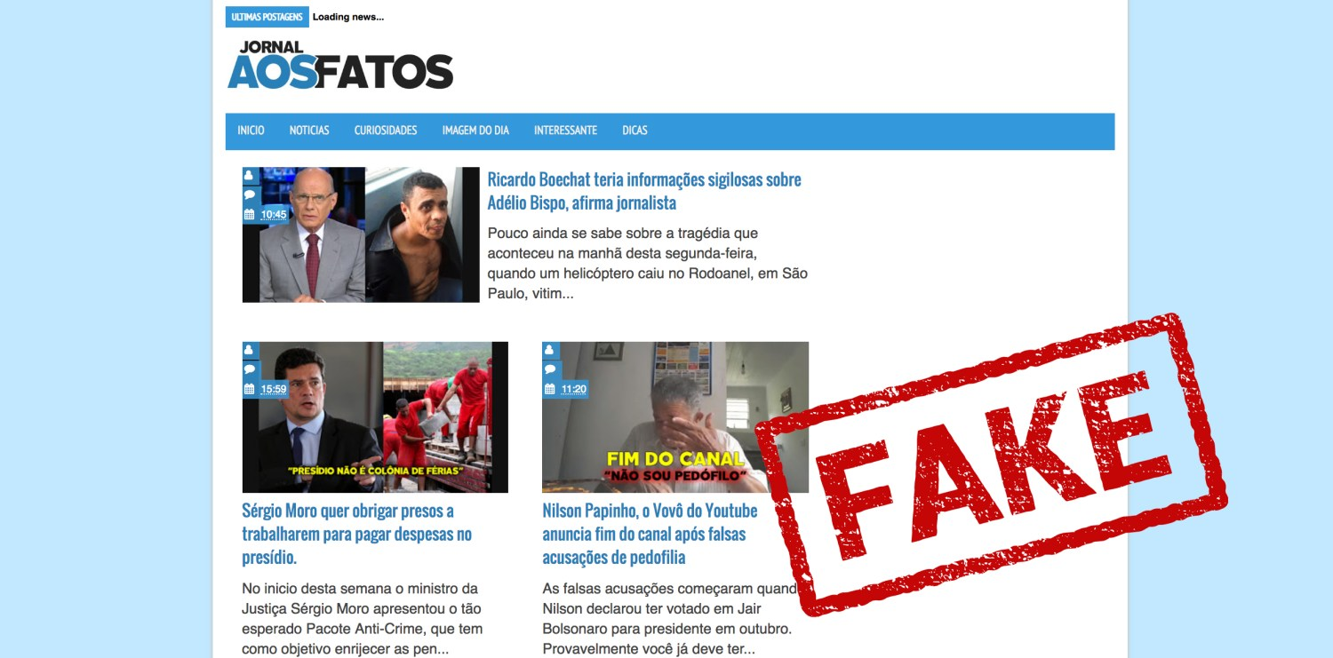This website impersonated a fact-checking outlet to publish fake news stories