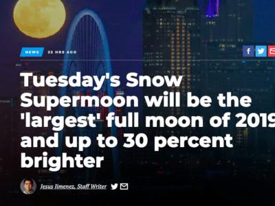 Screenshot, Dallas Morning News