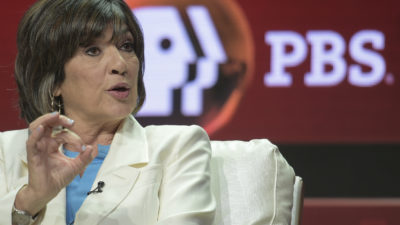 "Christiane Amanpour participates in the ""Amanpour & Co."" panel during the TCA Summer Press Tour on Monday, July 30, 2018, in Beverly Hills, Calif. (Photo by Richard Shotwell/Invision/AP)"