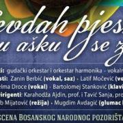 "Narodno pozorište Zenica: ""Sevdah pjesma u aš'ku se zače"""