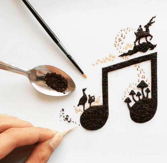 Coffee Art: Ghidaq al-Nizar