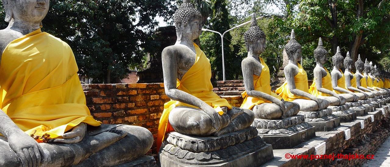 Buddhistické chrámy a památky