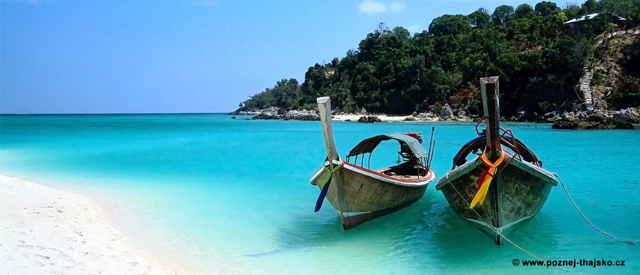 Thajské ostrovy a pláže