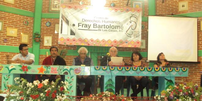 """Chiapas: Foro Internacional de Derechos Humanos, """"De la Memoria a la Esperanza""""."""