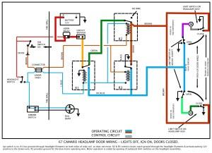 67 Camaro Tail Light Wiring Diagram  Wiring Diagram Pictures