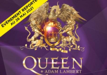 Queen reporté