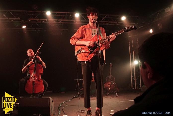 Mathyas Vj au violoncelle, Alexandre Joseph à la guitare et au chant - La Boule Noire - Paris - Samedi 09/11/2019