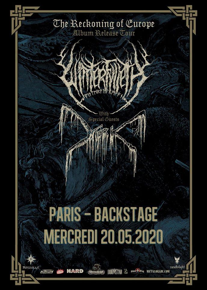 Affiche de Winterfylleth à Paris